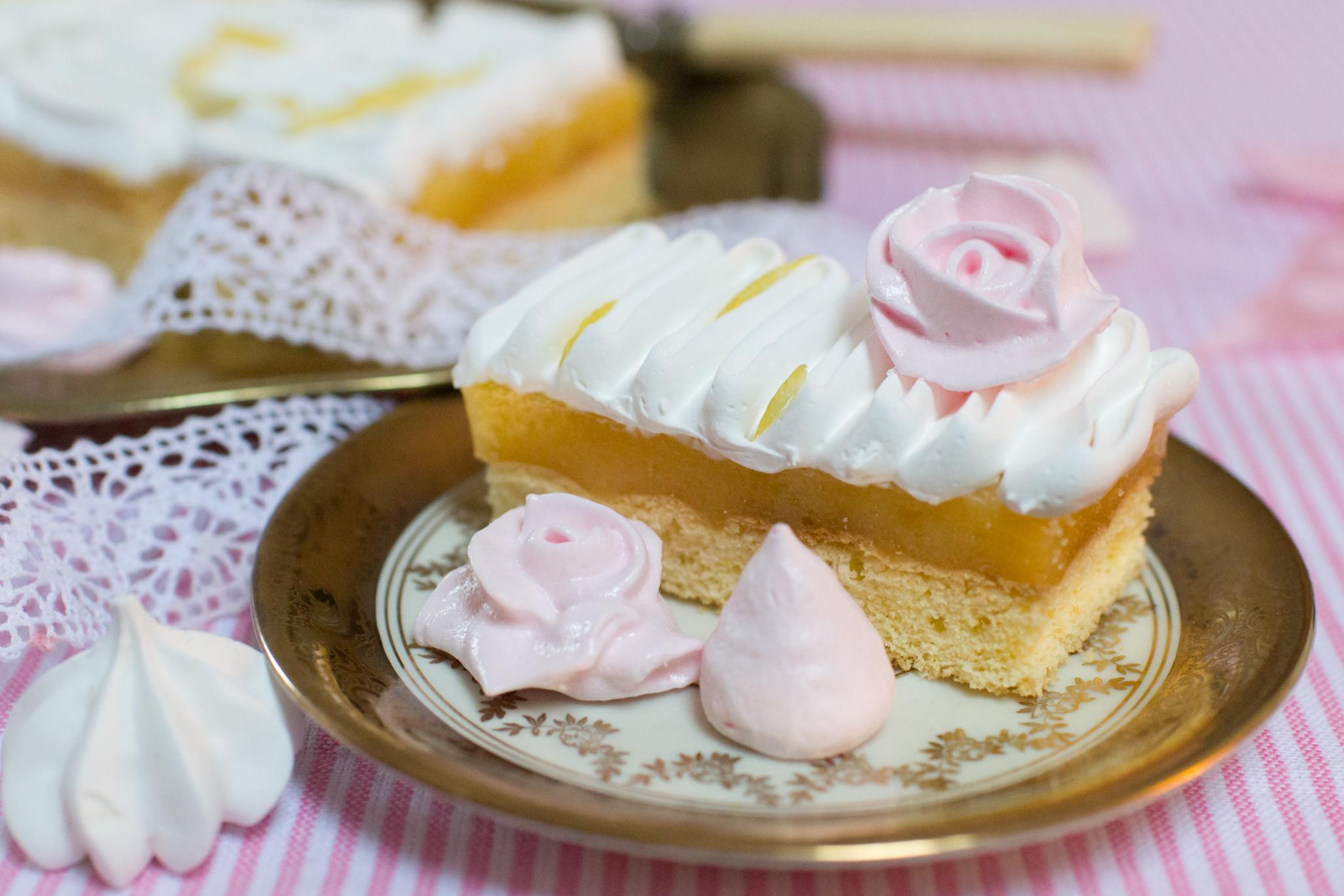 Lemon Curd Kuchen Zitronenschnitten Unser Sommer Unsere