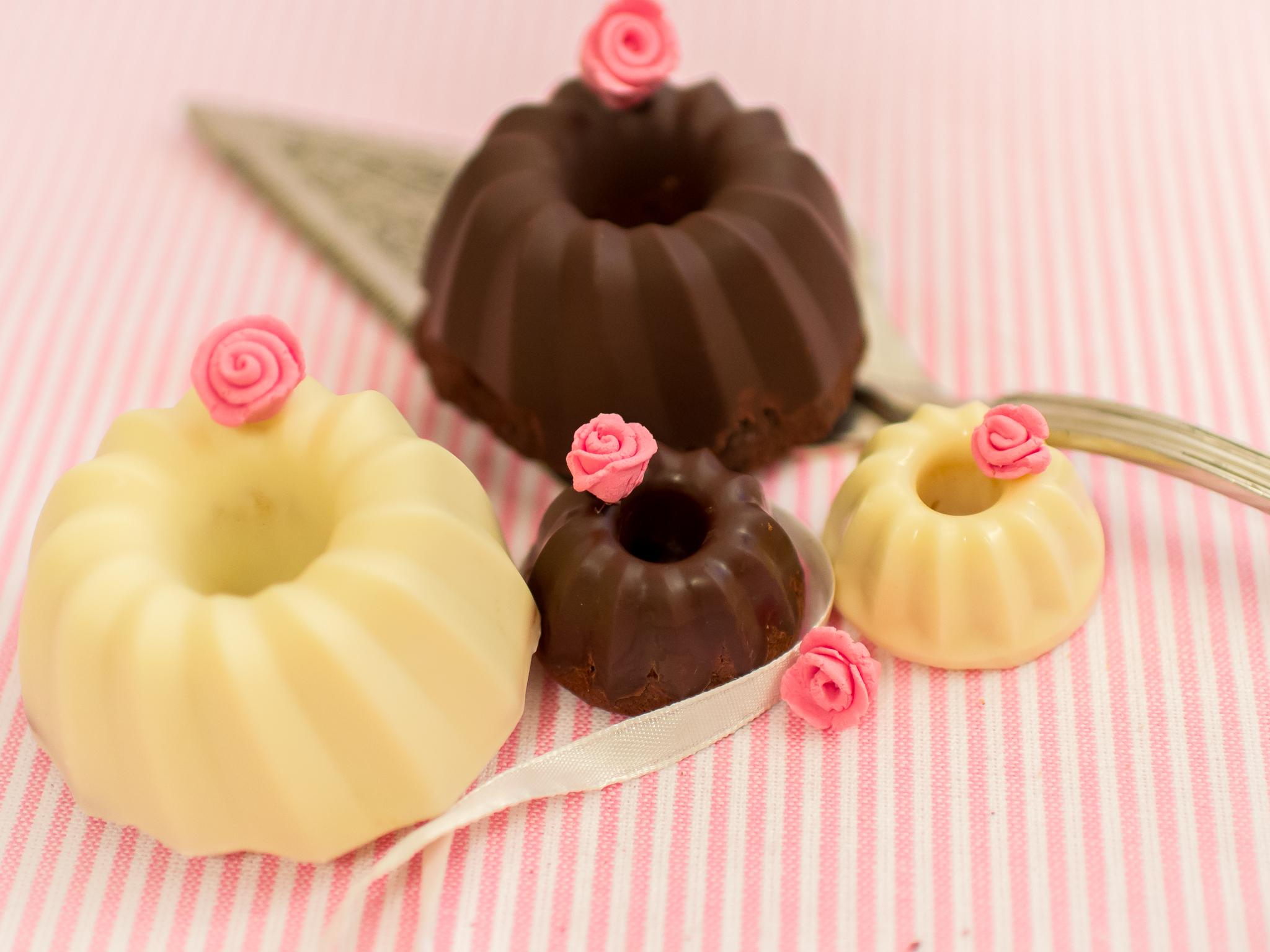 Mini Guglhupf Saftige Schokoladen Gugl