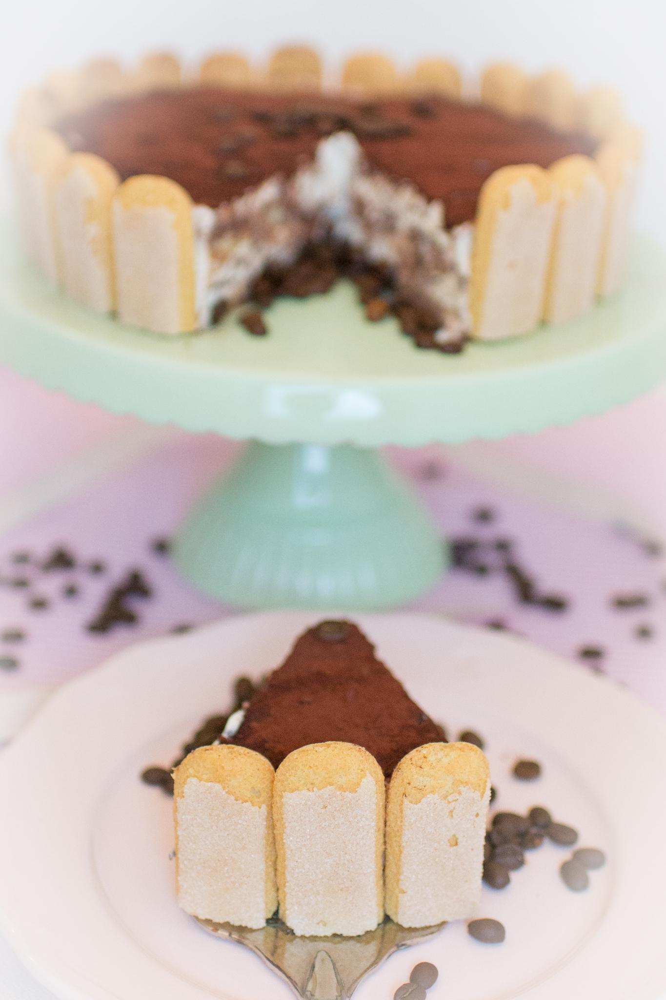 Tiramisu Torte Mit Loffelbiskuit Nobake Torte